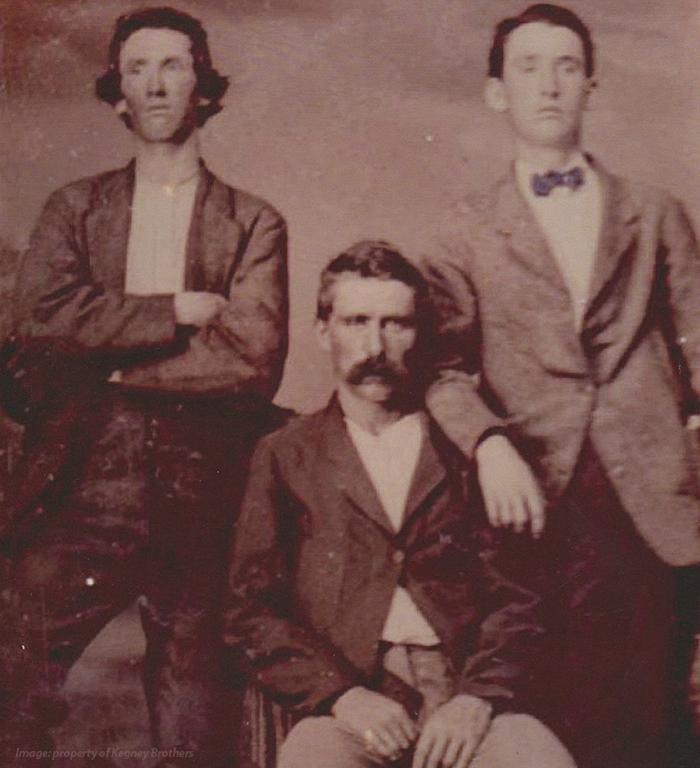 Original Kegney Brothers patrons