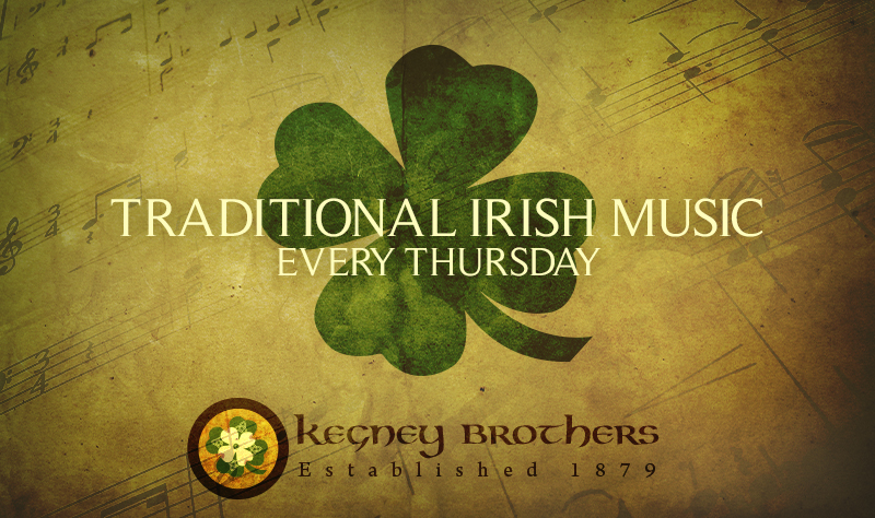 Irish Music Thursdays at Kegneys Brothers in Lynchburg